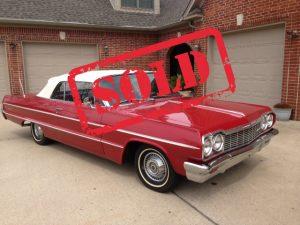 SOLD! 64 Impala
